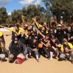 Celebrando a amizade com Tigres Uberlândia 2013