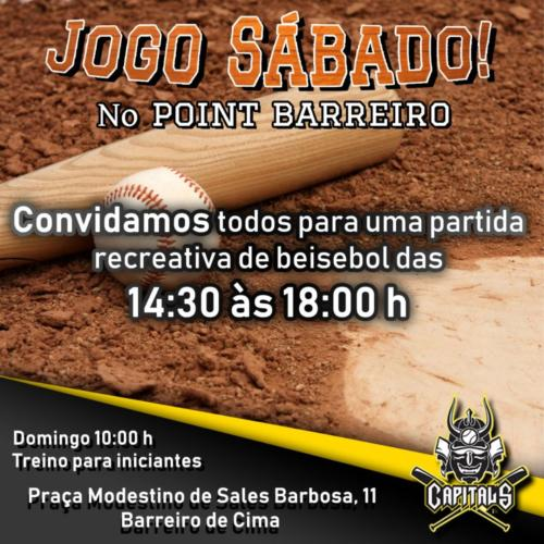 Jogo Beisebol Point Barreiro