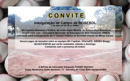 Convite Beisebol