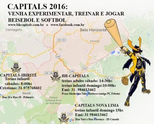Convite BH Capitals