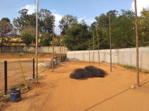 Construção do Batting Cage